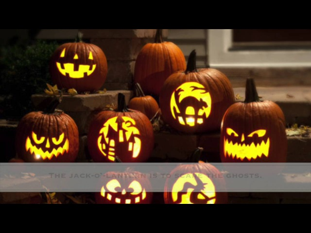 History of halloween. Great for kids and esl.