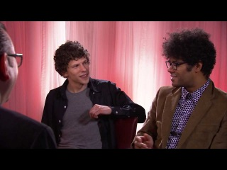 Jesse Eisenberg and Richard Ayode discuss The Double, playing at TIFF 2013