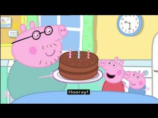 Peppa Pig (Series 1) - Mummy Pigs Birthday (with subtitles)