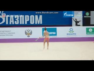 Дина Аверина булавы (финал) - Гран-При Москва 2017