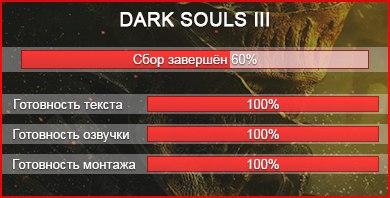 Dark souls iii русская озвучка   вконтакте.