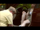 femdom foot massage in car