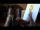 Ulviya Musayeva Painting Live