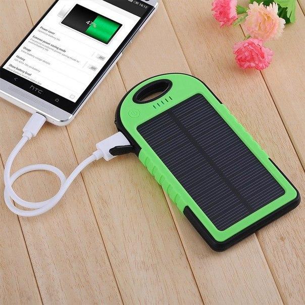 Заряжай телефон энергией Солнца!