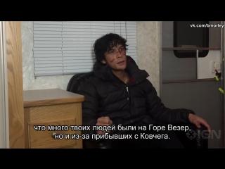 The 100 Bellamys Enforcer Role in Season 3 Bob Morley Interview [Rus Sub]
