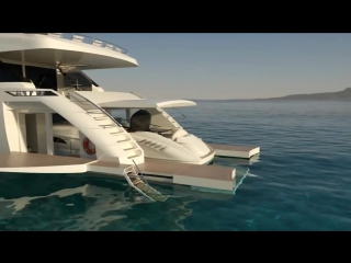 супер современная яхта - Wider 150 - Render