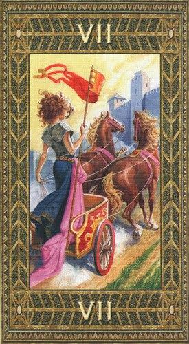 Tarot arcanus 7 chariot