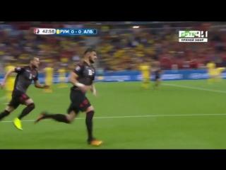 Гол Садику Армандо. Румыния 0-1 Албания (наше)
