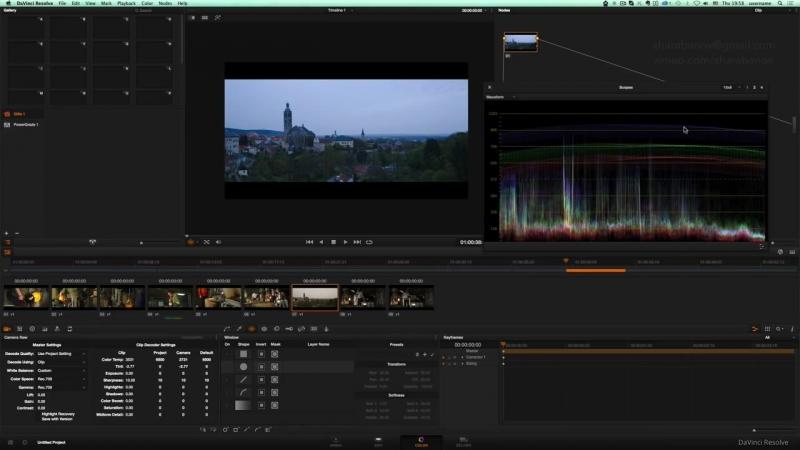 Основы Davinci Resolve 11 [RU])-HD - уроки кино