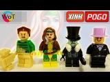 Китайские минифигурки Лего Пингвин, Анна Мария (Шельма, Роуг), Песочный человек