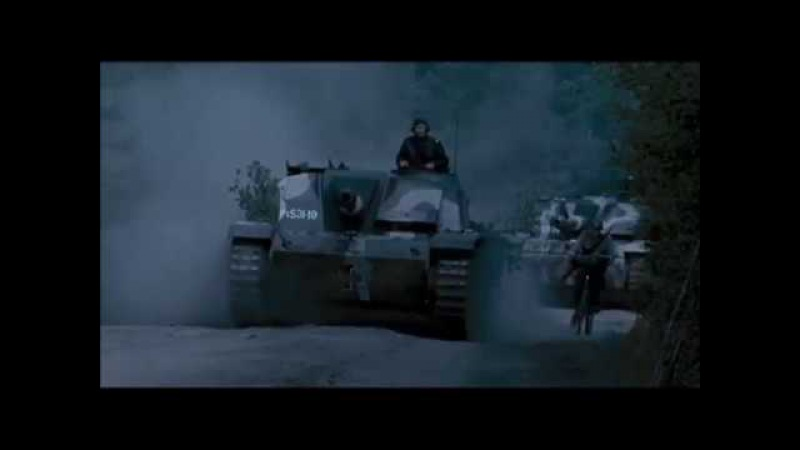 Finnish StuG's attack Soviet armour