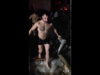 Крещенские омовения в Омске