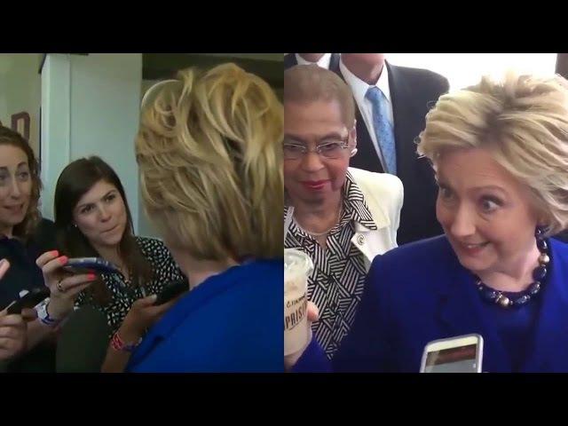 Aseguran que Hillary Clinton es poseída por una fuerza demoníaca durante una entrevista
