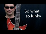 So what, so funky - George Benson Style Improvisation with Tabs - Achim Kohl - Jazz Guitar