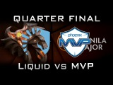Liquid vs MVP Manila Major Quarter Final Highlights Dota 2