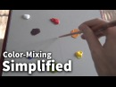 Color-Mixing Simplified 01 - Acrylic Oil Painting Lesson