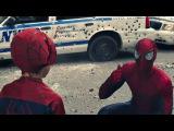 Человек-паук против Носорога. Новый Человек-паук Высокое напряжение.