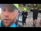 TYSON FURY RUNNING WITH BILLY JOE SAUNDERS; ALREADY DROPPED WEIGHT FOR RING RETURN