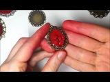 Урок Sona Grigoryan. Кулон с розами из полимерной глины. One Million RED Roses....a video about simplicity.....