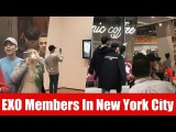 Very Lucky Fans Can Meet EXO Members In Various Locations In New York City