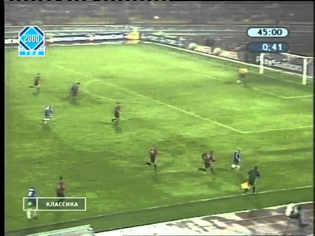 Динамо Киев 0 0 Манчестер Юнайтед ЛЧ 2000 01 матч