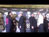 Дэвид Хэй и Тони Беллью провели финальную пресс-конференцию
