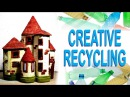 ❣Plastic Bottles Recycling Craft Idea DIY Fairy House❣