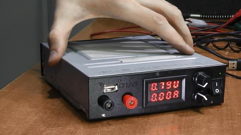 Доработка самодельного БП. Погрешность индикатора напряжения USB с индикацией тока