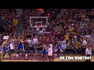 Kyrie Irving Crosses  Steph Curry!