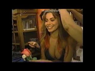 Молода и прекрасна - София Вергара (Sofia Vergara) на съемках для календаря на 2002 год - День 1