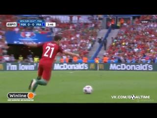 Португалия - Франция 1:0. Обзор матча. ЕВРО-2016. Финал.