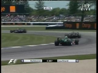 F1 2004. Гран-при США. Гонка