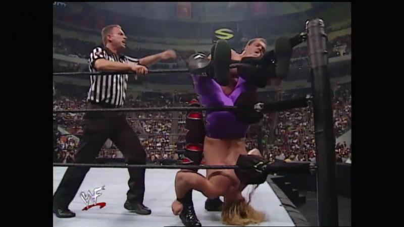 WWF SummerSlam 2000 - Chris Benoit vs Chris Jericho (Two-out-of-three falls match)