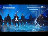 170428 1st Team - BTS ♬ Boy In Luv @ Produce 101 S2 EP.4