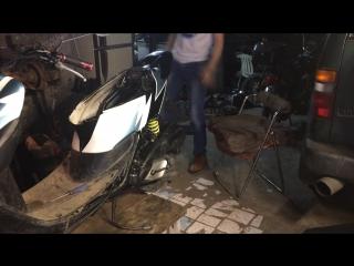 Финал. Сборка Honda Dio 35ZX