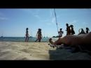 Мужик на не нудиском пляже 3