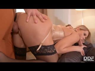 Nikky dream (let's go deeper: two studs fuck secretary up her asshole) 2017 (anal, cum on ass, handjob, hardcore, порно, секс)