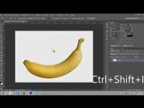 Уроки фотошопа! Как в фотошопе вырезать объект и вставить на другой фон? Как сделать фон прозрачным?