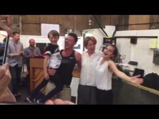 Красавица и Чудовище - С Днем рождения Эмма Уотсон, Эмма Томпсон, Люк Эванс и Нэйтан Мак!