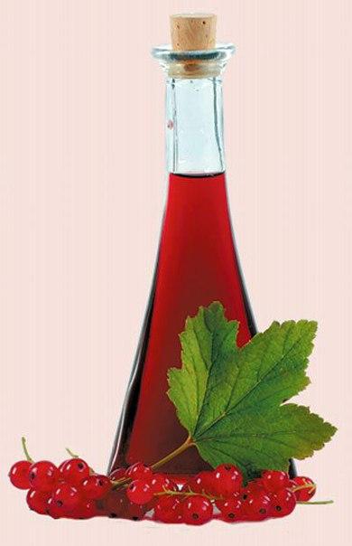 Настойки на спирту красная смородина