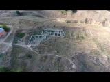 Античный город Ольвия музей-заповедник с высоты птичьего полета 24 июля 2016 года