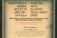 Городская олимпиада боевых искусств