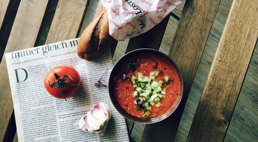 Испанский гаспачо рецепт с пошагово