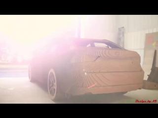 Lexus из картона