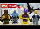 Fake Lego Batman Movie Knockoff. Минифигурки Лего Бэтгёрл Мистер Фриз Альфред