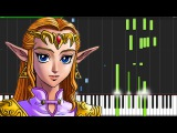Zelda's Lullaby - The Legend of Zelda Ocarina of Time Piano Tutorial  V
