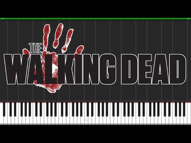 The Walking Dead Theme [Piano Orchestra] (Synthesia) Fontenele NXT PianoPrinceOfAnime