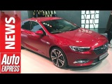 New Vauxhall Insignia Grand Sport stylish saloon goes upmarket