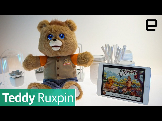 Teddy Ruxpin First Look