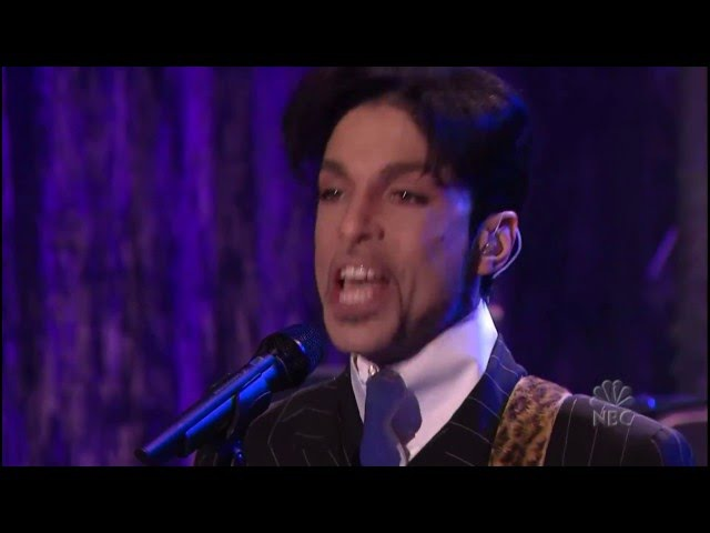 Prince - The Everlasting Now (live Tonight Show with Jay Leno) 2002